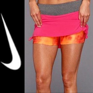 Nike Dri fit Running skort w biker short M